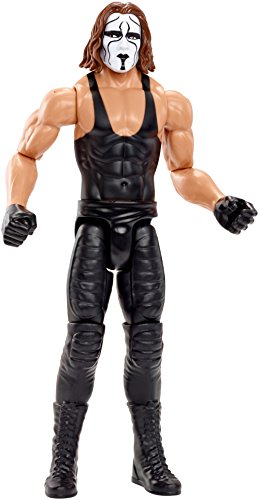 Mattel DXR09 WWE Sting 30 cm Basis Figur, Spielzeug Actionfiguren ab 6 Jahren