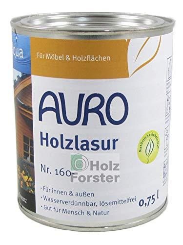 AURO Holzlasur Aqua Nr. 160-55 Ultramarin-Blau, 0,75 Liter