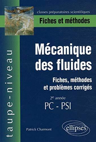 Mécanique des fluides 2e année PC-PSI