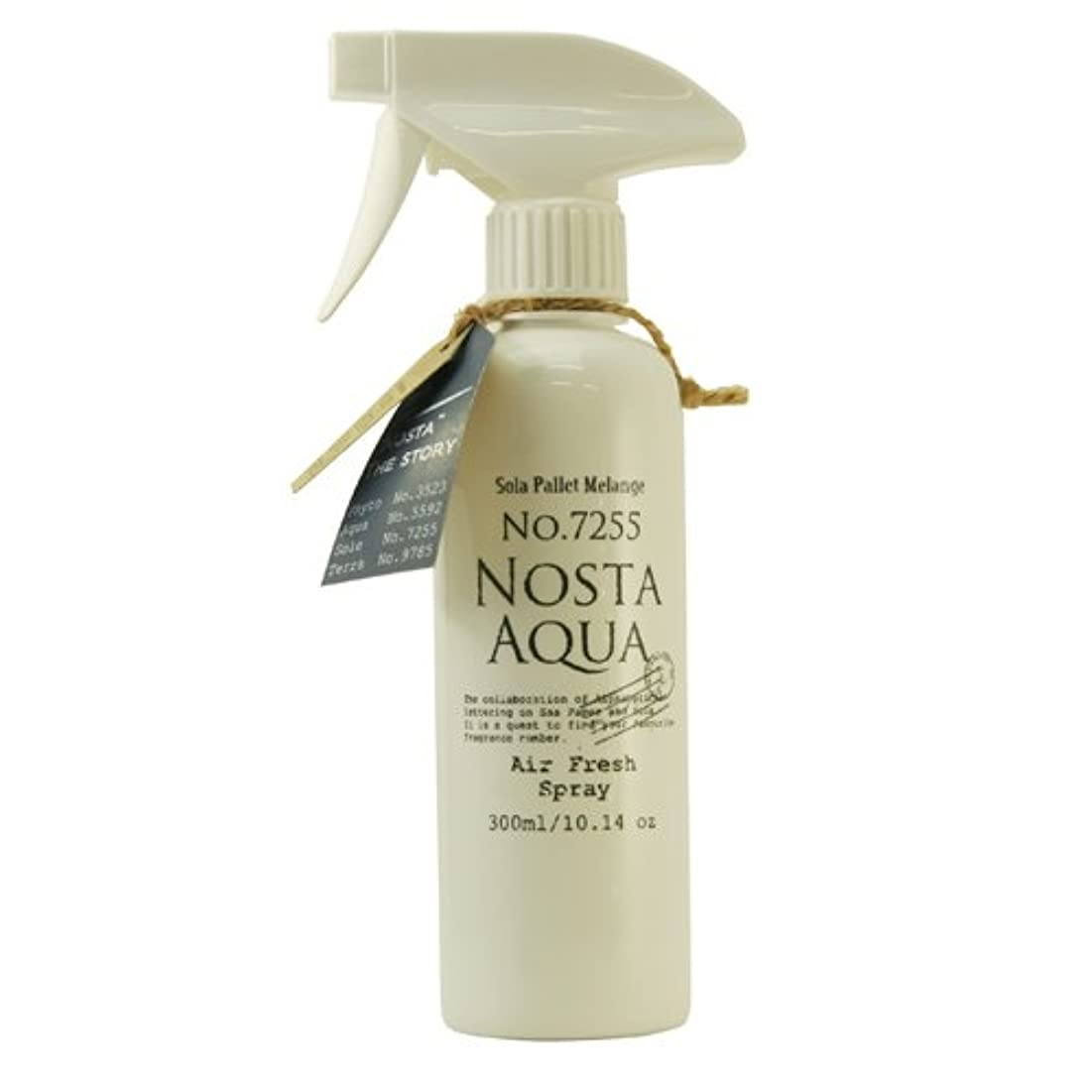 ぴったり典型的な兵隊Nosta ノスタ Air Fresh Spray エアーフレッシュスプレー(ルームスプレー)Aqua アクア / 生命の起源