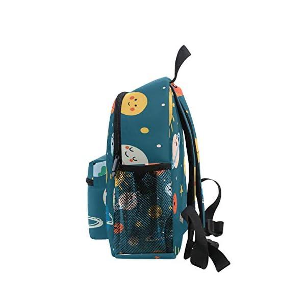 41cz UrSM2L. SS600  - CPYang Mochila para niños con sistema solar Planet Emoji School Bag Kindergarten Preescolar Mochila para niños y niñas