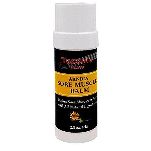 Taconic Shave Arnica Sore Baume musculaire - Tous Relief naturel pour Aching, Tendu, Bruised ou stressées muscles