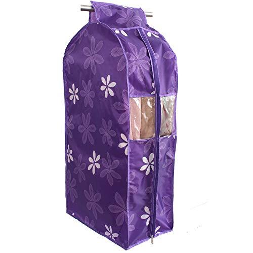 QFFL Sac de compression sous vide Housse anti-poussière, sac Oxford en trois dimensions et épais en tissu anti-poussière transparent Sac de protection (Couleur : A, taille : 110CM)