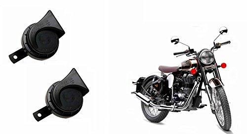 Roots Wind Tone Skoda Type Bike Horn (Set of 2)-Bullet Classic 350
