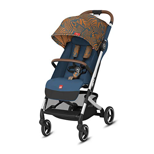 Buggy Qbit Plus All City Fashion Edition Atlantic Orange – Blau und Orange