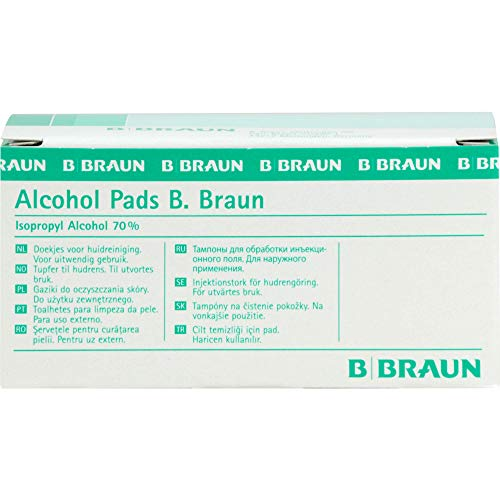 Alcohol Pads B. Braun, 100 St. Tücher