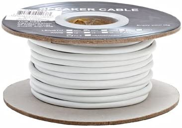 Albuquerque Mall 18-Awg 2C 50 Ft in Seasonal Wrap Introduction Rated CL2 Speaker Wire Wall