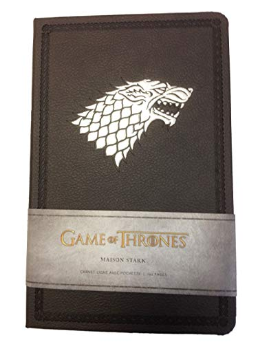 Game of Thrones (Le Trône de Fer) - Carnet Luxe Stark