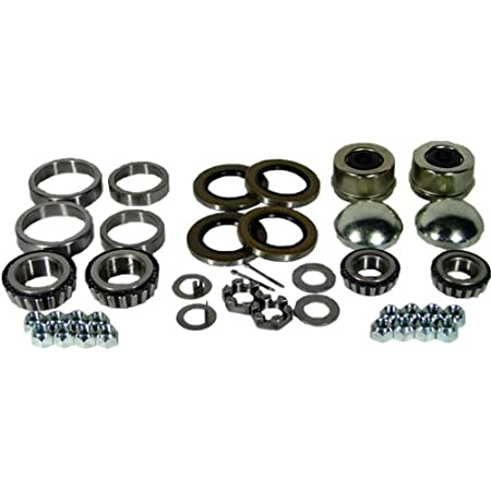 EPR Complete Trailer Bearing Kit Replacement for 6000# Axles #42 Spindle 15123//22580 Bearings