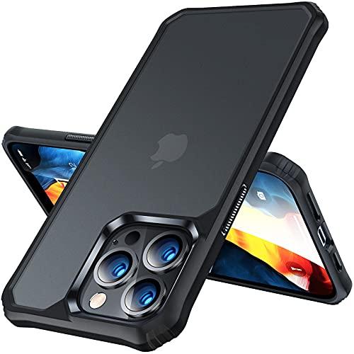 VANMASS FrostedFort Schutzhülle für iPhone 13 Pro Max, 2,4 m, militärische Qualität, stoßdämpfende & mattierte Hülle, kompatibel mit iPhone 13 Pro Max