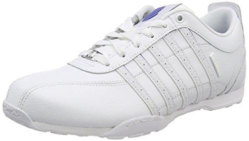 K-Swiss Herren Arvee 1.5 Sneaker, Weiß (White/White/Classic Blue), 47 EU