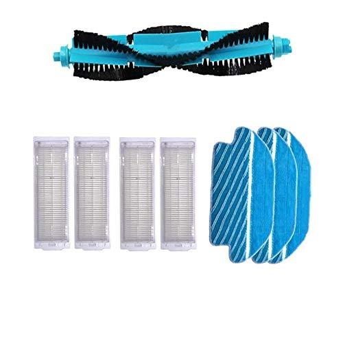 Buy Bargain Meizi New 1pcs Main Brush Hepa Filter Side Brushes Mop Cloth Fit for Xiaomi Robot Vacuum...