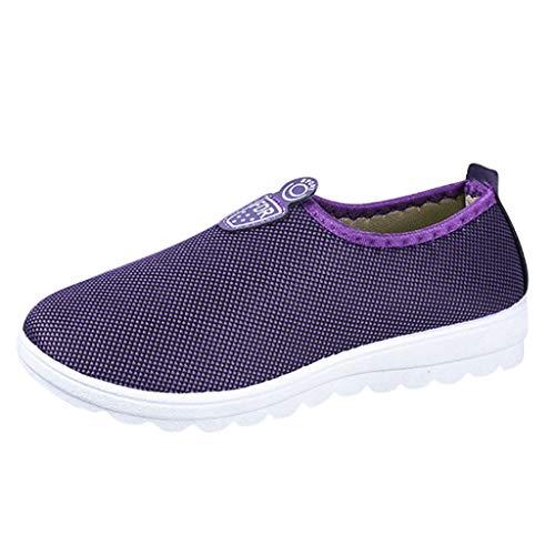 Heren dames slip on sneaker casual slip-on sportschoenen turnschoenen heren sneakers comfortabele lichtgewicht schoenen moccassins schoenen elastisch slipper by vovotrade