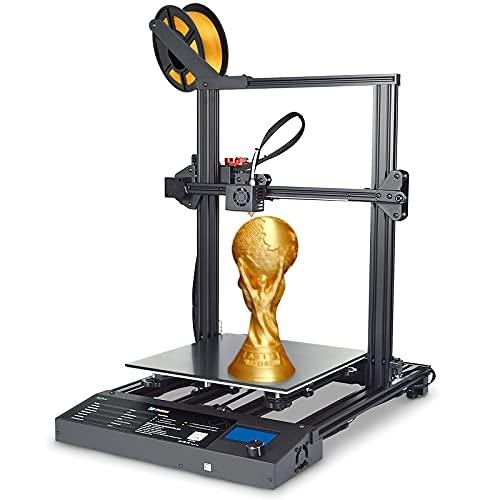 Impresora 3D S8 Plus, Tamaño Grande de 310x310x400 mm, Placa de Vidrio de Rejilla, Uso de Doble Cara con Cama Caliente, Kit de Extrusora Mejorado + Kit de Extremo Caliente