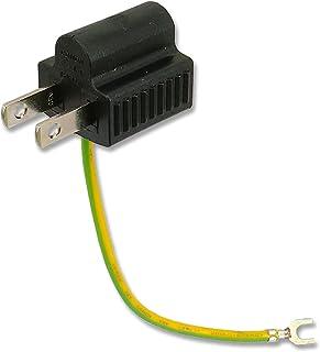 3Aカンパニー 電源変換プラグ 3P-2P変換 接地アダプター PAD-3P2P