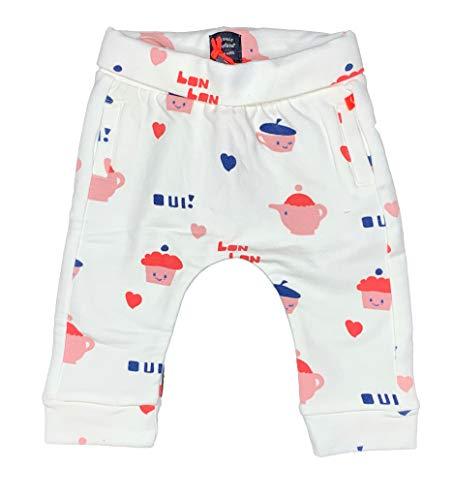 Babyface 0128204 New Born Girls Pantalon de survêtement Blanc Off - Ecru - 2 Mois