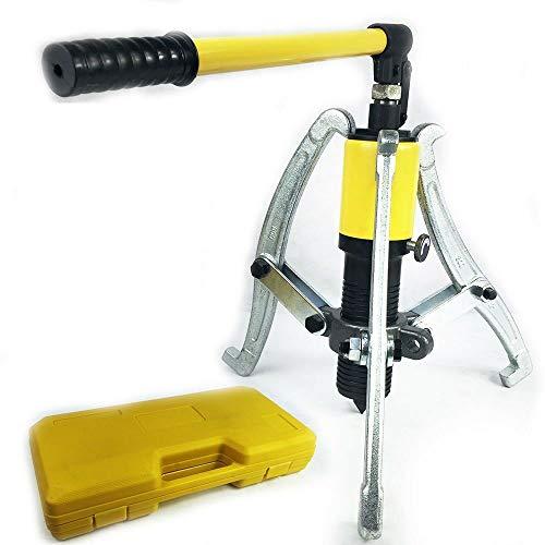 Hydraulischer Radnabenabzieher 15 T Hydraulik Abzieher Hydraulisch Polradabzieh Lager Separator Set Nabenabzieher 3 Backen Garage Tool Kit & Case
