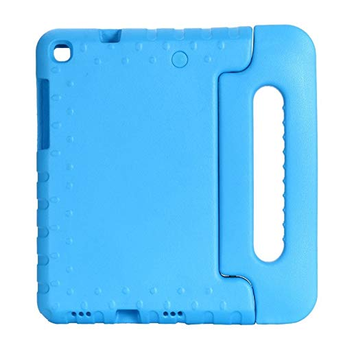 QiuKui Tab Cover For Samsung Galaxy Tab A 8.0 2019 SM T290 T295 T297, Hand-held Shockproof Full Body Cover Handle Stand Case For Samsung Galaxy Tab A 8.0 (Color : Blue)