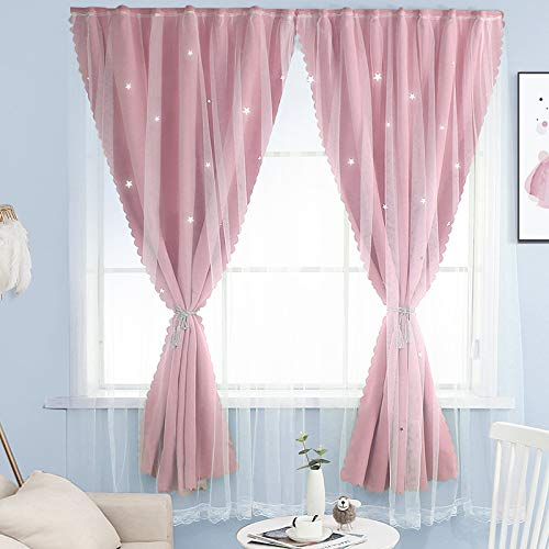 BOLO Woven tulle slot top curtain panel,0.9x1.5M