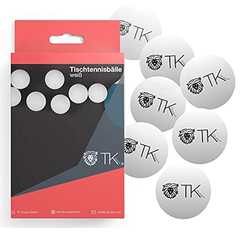 12x pelotas de tenis de mesa tenis de mesa blanco pelotas de tenis de mesa ping pong de 40 mm para entrenamiento y competición - tenis de mesa para interiores y exteriores ✅