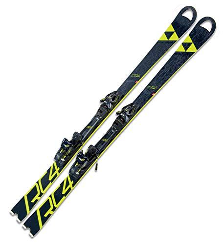 Ski Fischer RC4 Worldcup SC Yellow Base 165cm World Cup 2019 + Bindung RC4 Z12 Powerrail