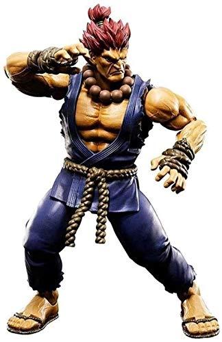 Figura de acción de Anime Street Fighter Gouki / Akuma Figuras de PVC Modelo Coleccionable Estatua...