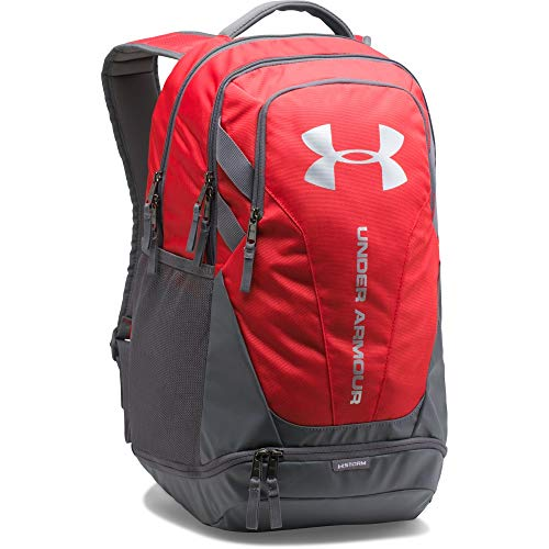 Under Armour UA Hustle 3.0 Mochila, Unisex Adulto, Rojo (600), One Size