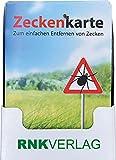 """RNK 2511 - Display Zeckenkarten """"Safecard"""", 115 x 80mm, enthält 15 Stück"""