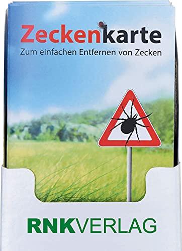 RNK 2511 Zeckenkarte Safecard mit Lupe, 85 x 54 mm