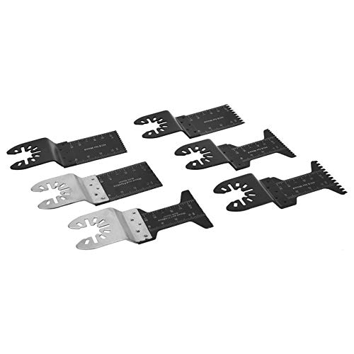 Learn More About Xucus 20pcs Universal Oscillating Multi Tool for Wood Plastic Soft Metal Oscillatin...