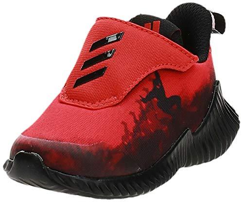 adidas Fortarun Spider-Man AC I, Sneaker Unisex Bimbo, Rosso Active Red/Core Black/Ftwr White, 20 EU