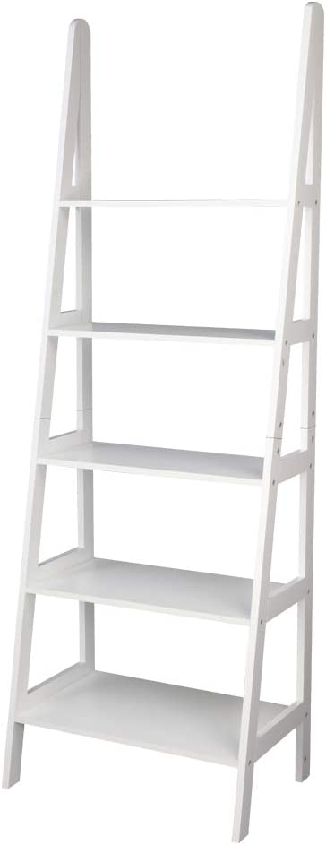 2021 model Ladder Shelf 5-Tier Bombing free shipping Multifunctional Modern Bo Flower Plant Wood