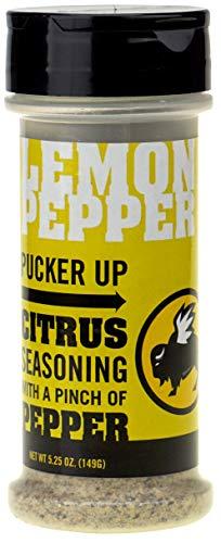 Buffalo Wild Wings Seasoning - Lemon Pepper - 5.25 oz