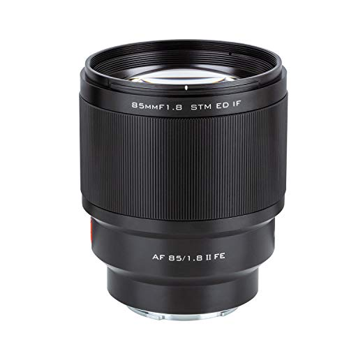 VILTROX 85mm F1.8 Mark II STM Full-Frame 85mm f1.8 ii for Sony E-Mount Camera Lens Support AF Auto Focus for Sony A7III A7RIII A7SII A7II a6500 a6400 a6300