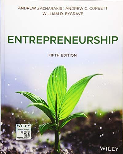 Entrepreneurship, 5th Edition Front Cover