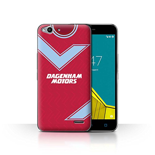Telefoonhoesje/Cover/Skin/VD-CC/Retro Voetbal/Kit Divisie 1 Collectie Vodafone Smart Ultra 6 West Ham 1993
