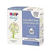 Hipp Baby - Salviettine Ultra Delicate Per Neonati, 99% Di Acqua, Pelli Normali E Sensibili, 3 Confezioni Multipack - 14693.54 ml