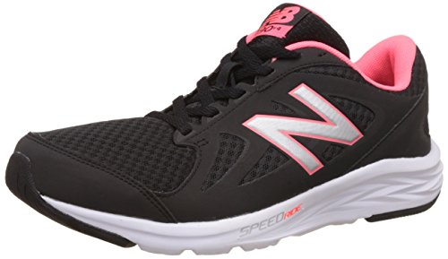 New Balance 490v4, Zapatillas Deportivas para Interior para Mujer, Negro (Black/Guava), 38 EU