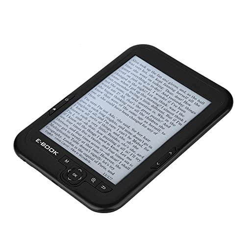 E-BOOK Reader E-Ink, duurzaam en comfortabel lezen E-BOOK voor kinderen, om te lezen(zwart, 4G)