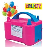 ENJOY the celebration people New Two Nozzles High Power Electric Balloon Inflator Air