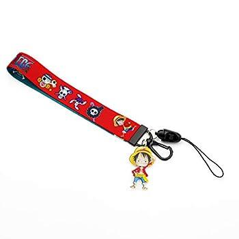 One Piece Luffy Lanyard Keychain ID Card Badge Holder  Luffy Style 1 Short