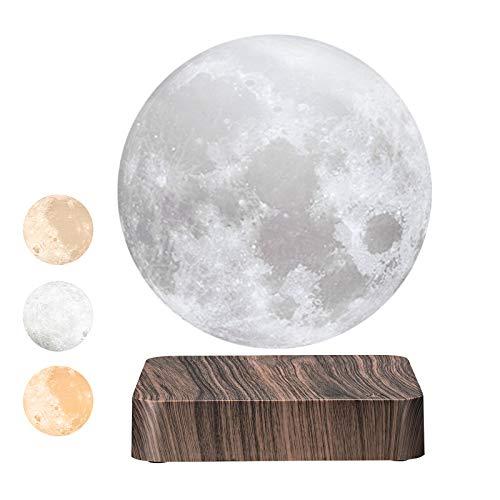 Levitating Moon Lamp,3D Printing Magnetic Levitation Moon Light,3D Moon Light That Can Be...