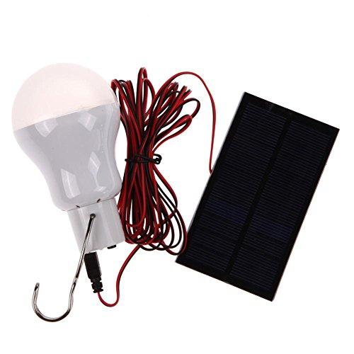 M/W Hawkoch Solarlampe, tragbare Solarenergie LED-Lampe Lampe Außenbeleuchtung Camp Zelt Angellampe