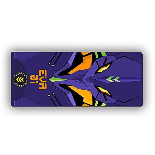 Davrcte Neon Genesis Evangelion Gaming Mouse Pad Mat Large EVA 01 Ikari Shinji Anime Mousepads Extended XL Ikari Shinji