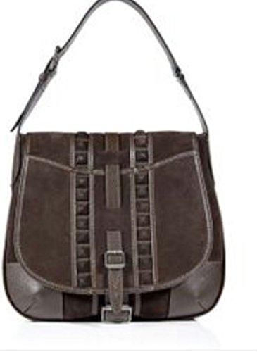 Belstaff Schwarzes Wildleder Denton Tasche - BNWT - Authentic Original [Damen Damen Umhängetaschen Tote Bag Handtaschen]