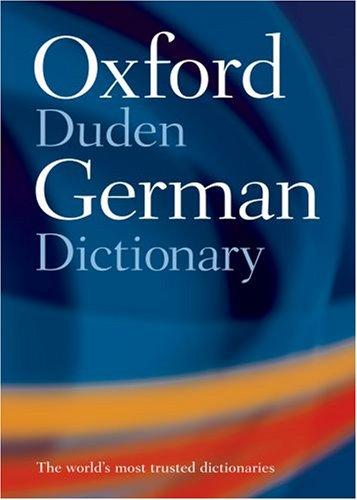 Oxford-Duden German Dictionary: German-English / English-German
