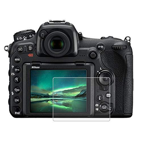 Gehärtetem Glas Displayschutzfolie für Nikon D500/D600/D610/D7100/D7200/D750/D800, 0,3 mm ultraklare LCD-Schutzfolien mit 9H Härte, Anti-scrach, Anti Fingerprint (D500/D600/D610/D7100/D7200/D750/D800)