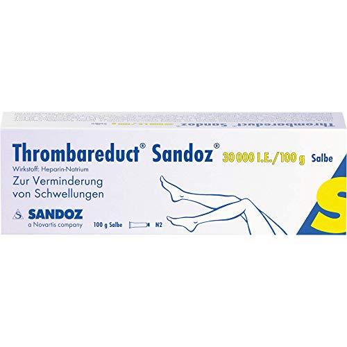 Thrombareduct Sandoz 30000 I.E./100 g Salbe, 100 g Salbe