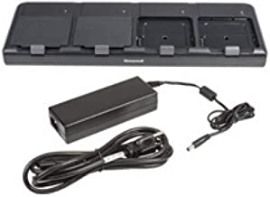 Honeywell CT50, 4-charger, kit w/dock PS, PC, for batteries, 32-CT50-QBC-2 (PS, PC, for batteries)