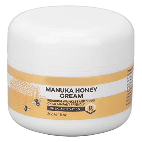 Honey Face Cream Hidratante Refrescante Loción Antiarrugas, Control De Aceite Hidratante, Crema Reparadora De Invierno, Hidratante Para Piel Sensible 30g / 1.1oz